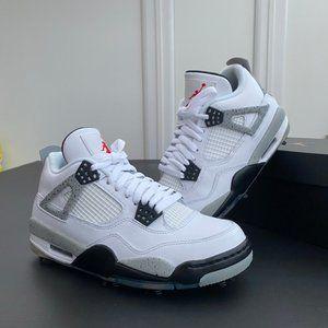Air Jordan 4 G Retro - White Cement